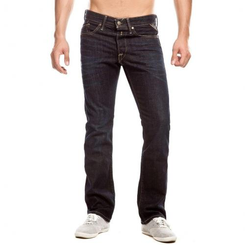 Replay Waitom Jeans Slim Fit Dark Used