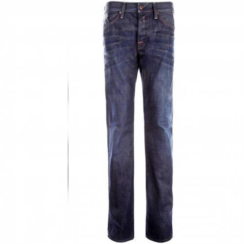 Replay Waitom Jeans Straight Fit Dark Used