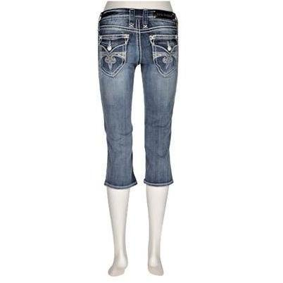 Rock Revival Capri-Jeans