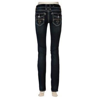 Rock Revival Jeans Dk Blue