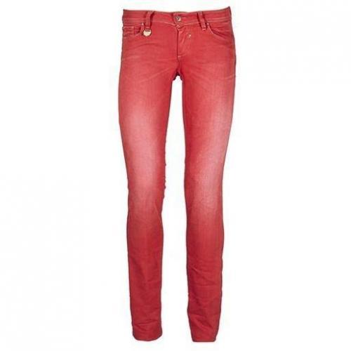 Salsa Jeans - Slim Modell 92111 Wonder 482 776 Farbe Rot