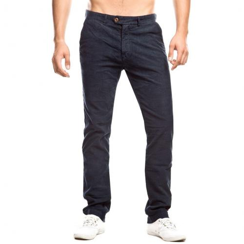 Scotch & Soda Cordchino Straight Fit Navy