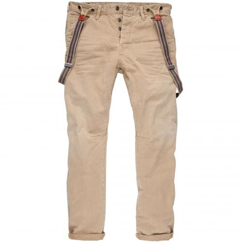 Scotch & Soda Herren Jeans Brewer Sand 84 Wallnut