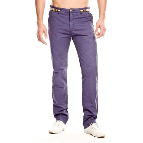 Scotch & Soda Paul Chino Straight Fit Blau