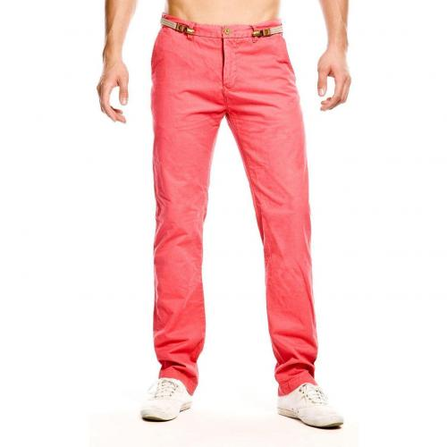 Scotch & Soda Paul Chino Straight Fit Rot
