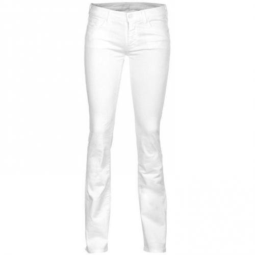 Seven For All Mankind Classic Straight Leg Weiß