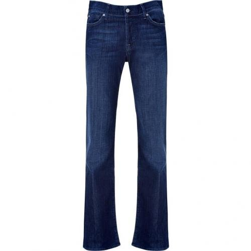 Seven for all Mankind Dark Blue Classic Straight Leg Pants