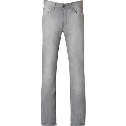 Seven for all Mankind Grey Slim Straight Slimmy Jeans
