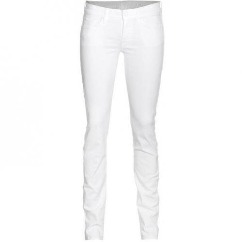 Seven For All Mankind Roxanne Classic Skinny Weiß