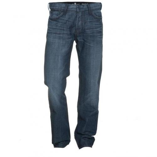 Seven For All Mankind Standard Classic Dark Blau