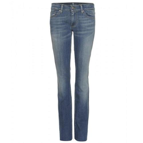 Seven For All Mankind Straight Leg Jeans Toronto Light