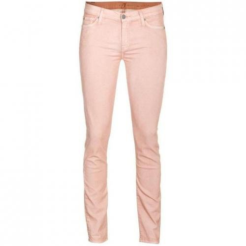 Seven For All Mankind The Skinny Second Skin Peach