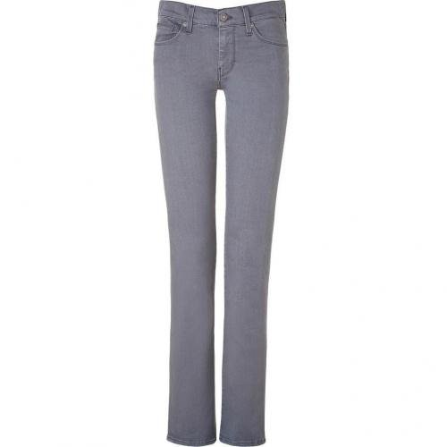 Seven for all Mankind Toronto Grey Straight Leg Jeans