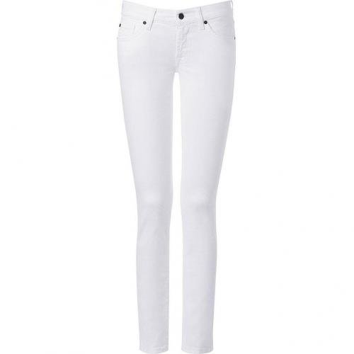 Seven for all Mankind Twowhite Classic Skinny Jeans Roxanne