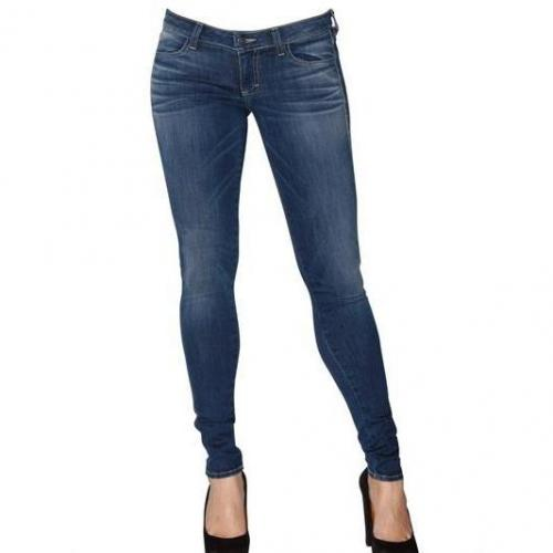 Siwy - Skinny Denim Stretch Jeans Blau Washed