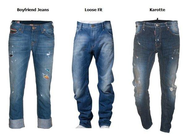 Spezielle Jeans-Typen: Boyfriend Jeans, Karotte und Marlene im Check
