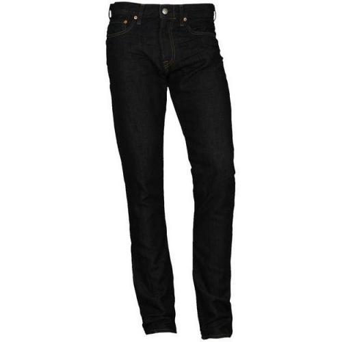 Spurr Jeans Straight mit Leinenanteil indigo