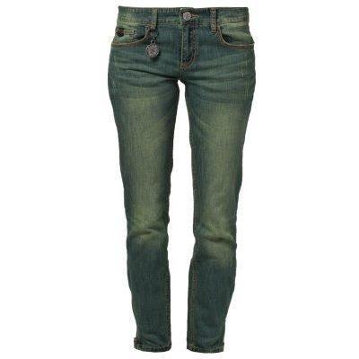 Stefanel Jeans gelb blau