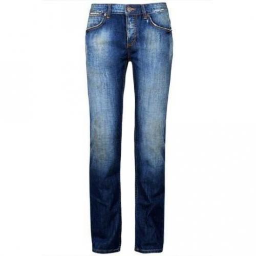 SuperDry - Slim Standard Blue Jean-Slim Freedom Blue Blau