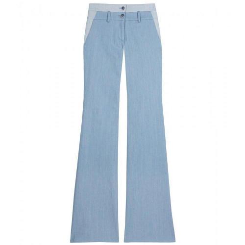 Thakoon Jersey Combo Bootcut Pants
