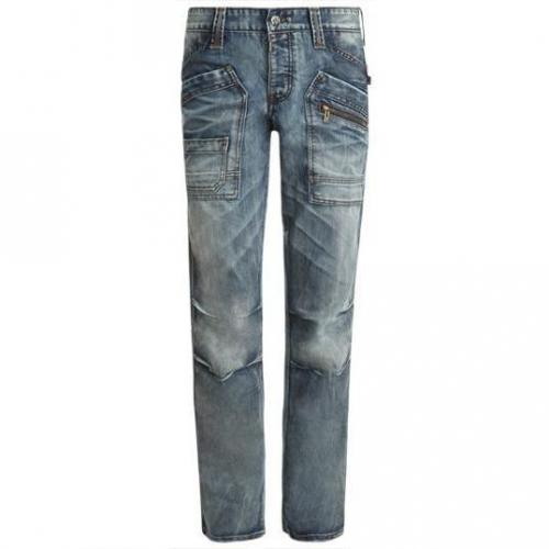 Timezone - Hüftjeans Clay cool wash Blaue Waschung
