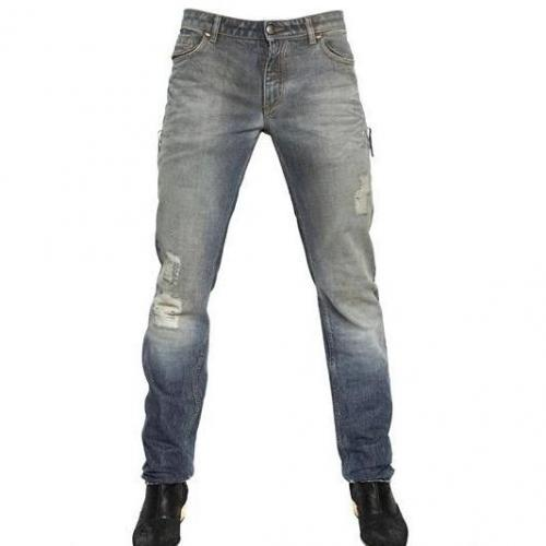 Tom Rebl - 18Cm Distressed Denim Jeans
