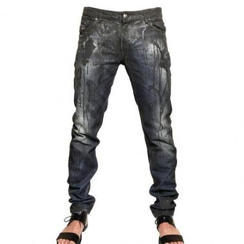 Tom Rebl - Latex Denim Slim Fit Jeans