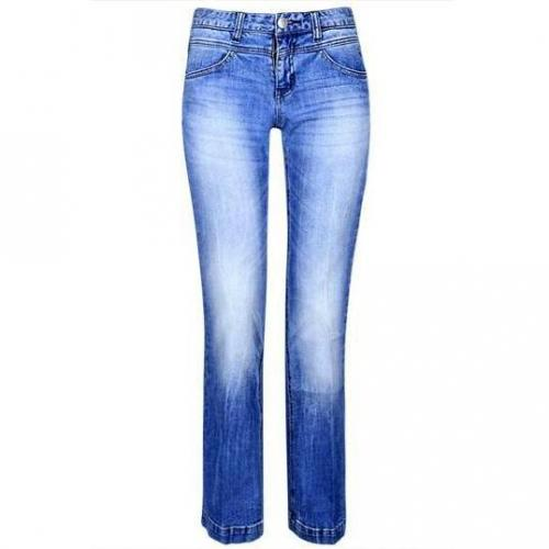 Tom Tailor - Boot Cut Modell Alexa Flared Farbe Blaue Waschung