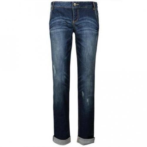 Tom Tailor - Boyfriend Modell Chino Stonewash Farbe Blaue Waschung