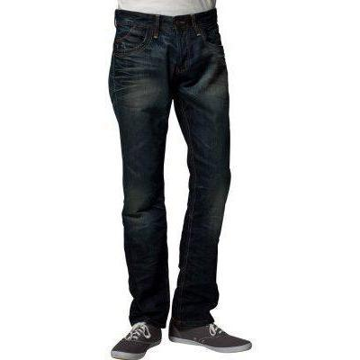 Tom Tailor Denim DARK VINTAGE SLIM DENIM Jeans dirty destroyed vintage stone wash
