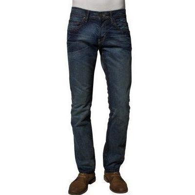 Tom Tailor Denim DIRTY SLIM STRAIGHT Jeans dirty mid stone wash