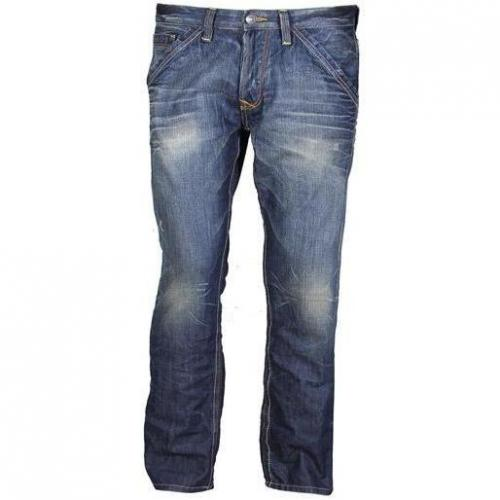 Tom Tailor - Hüftjeans Relaxed Slim Dirty Destroyed Vintage Stone Wash B