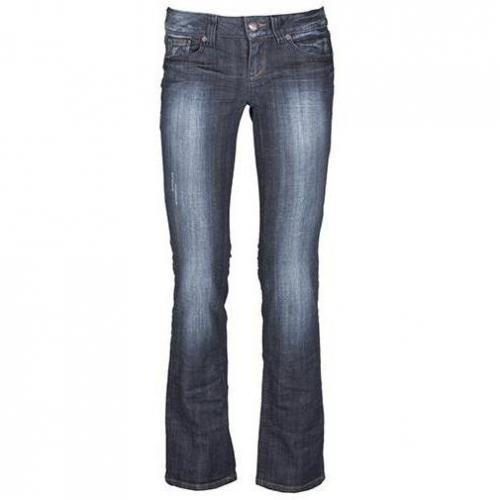Tom Tailor - Hüftjeans Modell Straight Dirty Mid StoneWash Farbe Blau