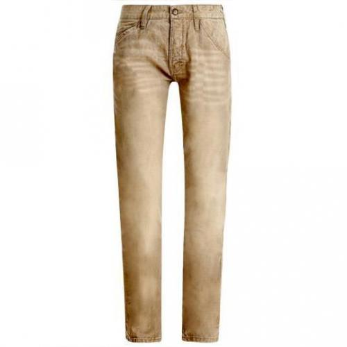 Tom Tailor - Slim Relaxed greyish beige Kamel