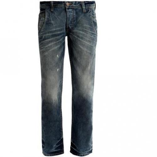 Tom Tailor - Slim Relaxed Slim Dirty Dark Stonewash Blau