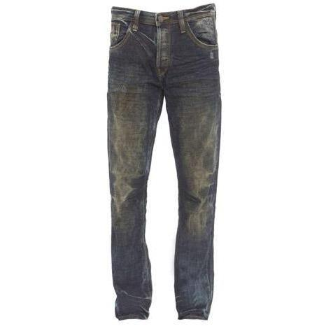 Tom Tailor - Slim Relaxed Slim Dirty Destroyed Vintage Stonewash Blaue W