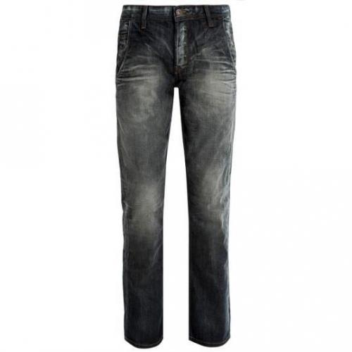 Tom Tailor - Slim Relaxed Slim Dirty Mid Stonewash Blaue Waschung