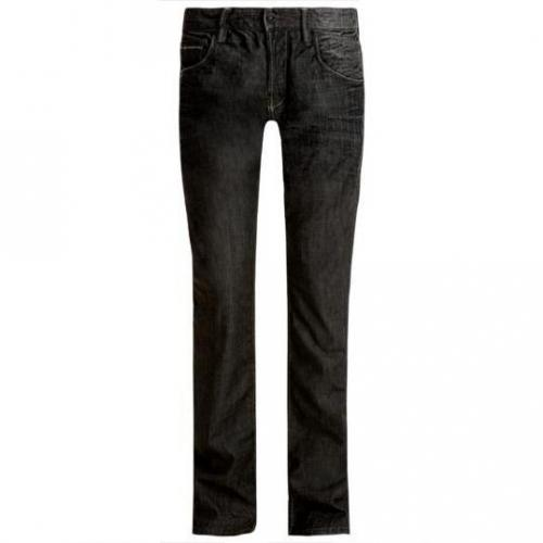 Tom Tailor - Slim Slim black denim Grau