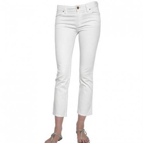 Tory Burch - Gekürzte Denim Stretch Jeans