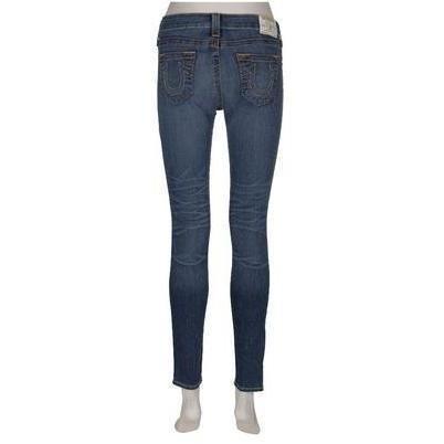 True Religion 7/8-Jeans Halle Sim Blue Washed