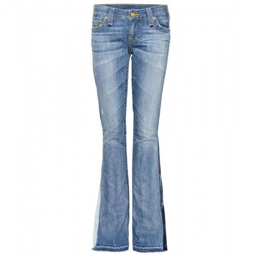 True Religion Bobby Love & Haight Flair Jeans