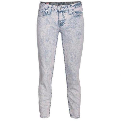 True Religion Brooklyn Cropped Blau