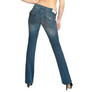 True Religion Damen Jeans Becky