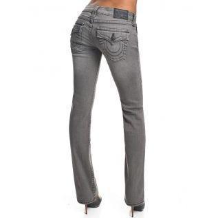 True Religion Damen Jeans Billy Grau