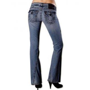 True Religion Damen Jeans Joey Super T