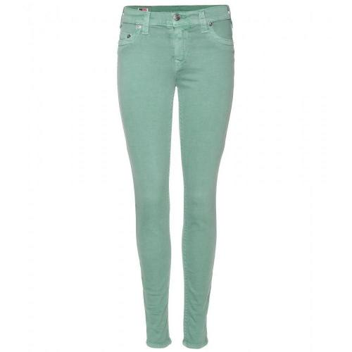 True Religion Halle Skinny Jeans Emerald
