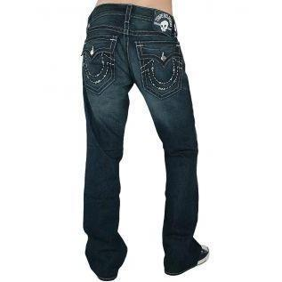 True Religion Herren Jeans Billy Handstitched