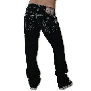 True Religion Herren Jeans Bobby Super T Black