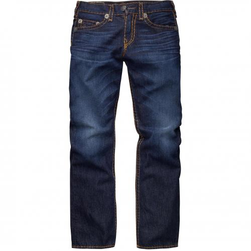 True Religion Herren Jeans Bobby Super T Straight Assasinat