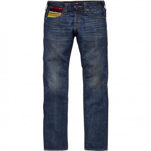True Religion Herren Jeans Geno Slim Baja